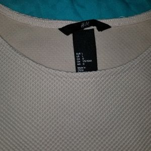 H&M Tops - H &M size large top